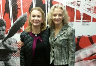 Juliet and Hayley Mills visit 702 ABC Sydney